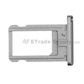 For Apple iPad Air 2 SIM Card Tray  Replacement - Gray - Grade S+