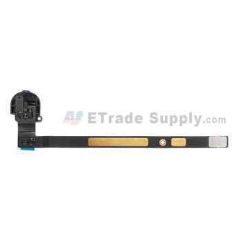 For Apple iPad Air Audio Flex Cable Ribbon  Replacement (Wifi Version) - Black - Grade S+