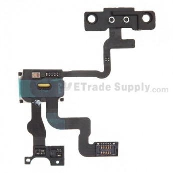 For Apple iPhone 4S Sensor Flex Cable Ribbon with Ear Speaker Replacement - Grade R
