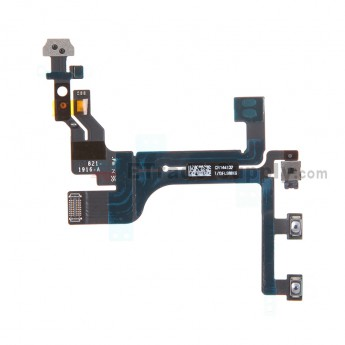 For Apple iPhone 5C Power Button and Volume Button Flex Cable Ribbon - Grade S+