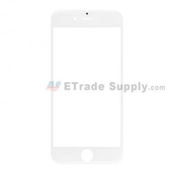 For Apple iPhone 6S Glass Lens Replacement - White - Grade R