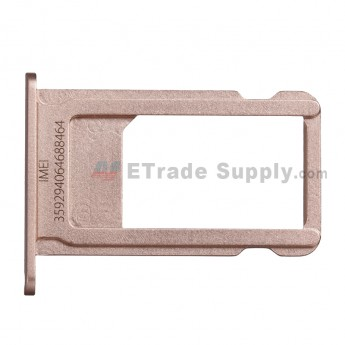 For Apple iPhone 6S Plus SIM Card Tray Replacement - Rose Gold - Grade S+