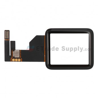 For Apple Watch Digitizer Touch Screen Replacement - Black - 38mm - Grade S+