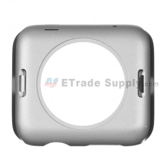 For Apple Watch Middle Frame Replacement - Gray - 38mm - Grade S+