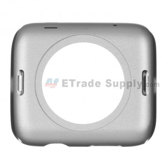For Apple Watch Middle Frame Replacement - Gray - 42mm - Grade S+