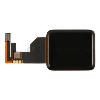For Apple Watch Sport LCD Screen and Digitizer Assembly Replacement - Black - 38mm - Grade S+
