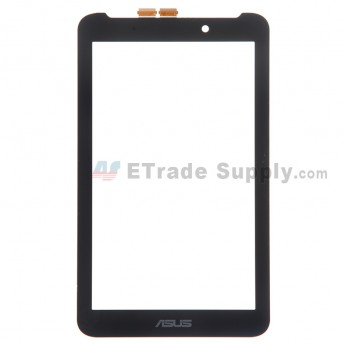 For Asus Fonepad 7 FE170CG Digitizer Touch Screen Replacement - Black - Grade S+