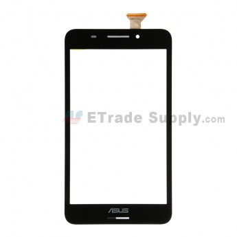For Asus Fonepad 7 FE375CG Digitizer Touch Screen Replacement - Black - Grade S+