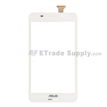 For Asus Fonepad 7 FE375CG Digitizer Touch Screen Replacement - White - Grade S+