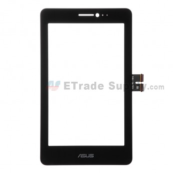 For Asus Fonepad 7 ME175CG Digitizer Touch Screen Replacement - Black - Grade S+