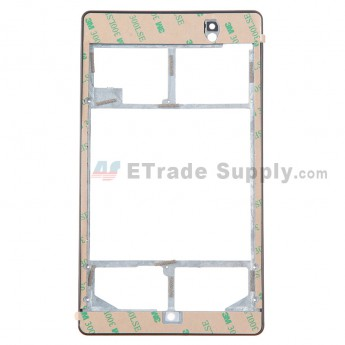 For Asus Google Nexus 7 (2013) Front Housing with Adhesive Replacement (Wifi Version) - Grade R