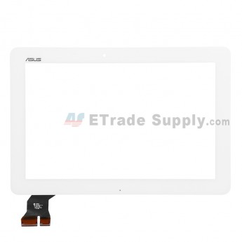 For Asus Memo Pad 10 ME103K Digitizer Touch Screen Replacement - White - With Logo - Grade S+