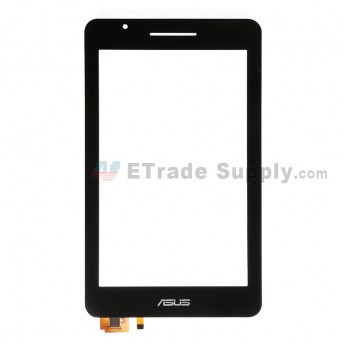 For Asus Fonepad 7 FE171CG Digitizer Touch Screen  Replacement - Black - Asus Logo - Grade S+