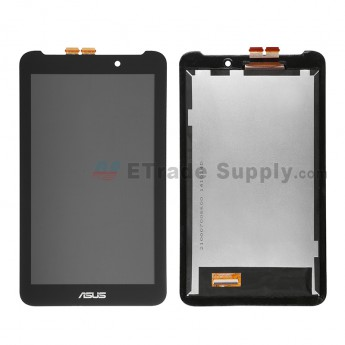 For Asus Memo Pad 7 ME170C LCD Screen and Digitizer Assembly  Replacement - Black - Asus Logo - Grade S+