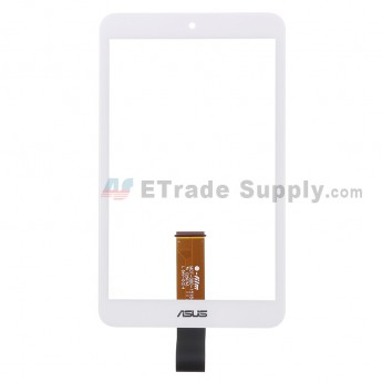 For Asus Memo Pad 8 ME181C Digitizer Touch Screen Replacement - White - With Logo - Grade S+