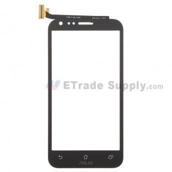 For Asus PadFone 2 Digitizer Touch Screen Replacement - Black - With Logo - Grade S+