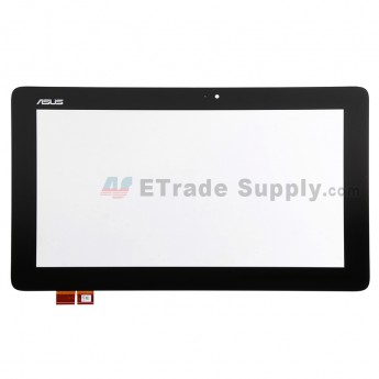For Asus Transformer Book T200TA Digitizer Touch Screen Replacement - Black - Grade S+