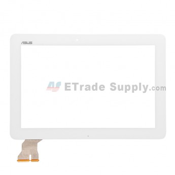For Asus Transformer Pad TF103 Digitizer Touch Screen Replacement - White - With Logo - Grade S+