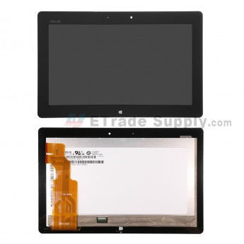 For Asus Vivo Tab RT TF600 LCD Screen and Digitizer Assembly Replacement (5234) - Black - Grade S+