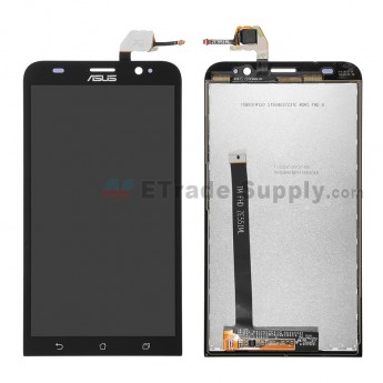 For Asus Zenfone 2 ZE551ML LCD Screen and Digitizer Assembly Replacement - Black - With Logo - Grade S+