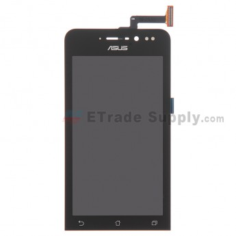 For Asus Zenfone 4 A450CG LCD Screen and Digitizer Assembly Replacement - Black - With Logo - Grade S+