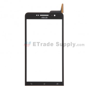 For Asus Zenfone 6 A600CG Digitizer Touch Screen Replacement - Black - With Logo - Grade S+