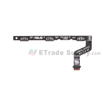 For Asus Zenfone 6 A600CG Power Button Flex Cable Ribbon  Replacement - Grade S+