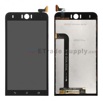For Asus Zenfone Selfie ZD551KL LCD Screen and Digitizer Assembly  Replacement - Black - Without Logo - Grade S+