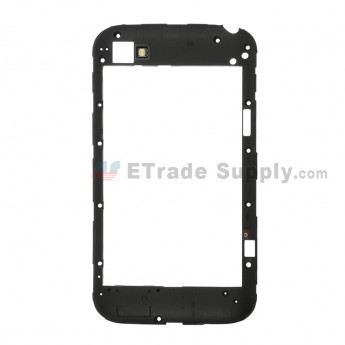 For BlackBerry Classic Q20 Rear Housing Replacement - Black - Grade S+