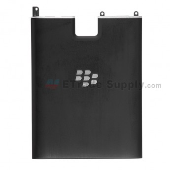 For Blackberry Passport Battery Door with Wireless ChAcerging Coil Replacement - Black - Grade S+