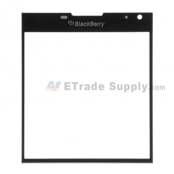 For Blackberry Passport Glass Lens Replacement - Black - Grade S+