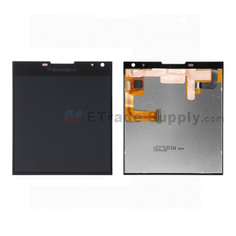 For Blackberry Passport LCD Screen and Digitizer Assembly Replacement (LCD-57695-001/111) - Black - Grade S+