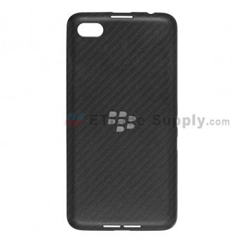 For BlackBerry Z30 Battery Door Replacement (3G Version) - Black - Without Carrier Logo - Grade S+