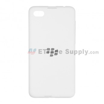 For for BlackBerry Z30 Battery Door  Replacement (4G Version) - White - Without Logo - Grade S+