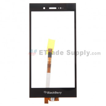 For BlackBerry Z3 Digitizer Touch Screen Replacement - Black - With Logo - Grade S+
