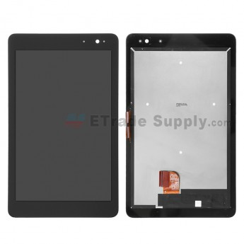 For Dell Venue 8 Pro 5468W LCD Screen and Digitizer Assembly  Replacement - Black - Without Logo - Grade S+
