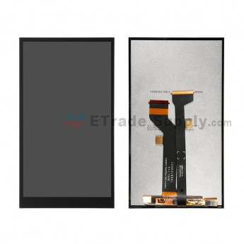 For HTC Butterfly 3 LCD Screen and Digitizer Assembly Replacement - Black - Without Logo - Grade S+