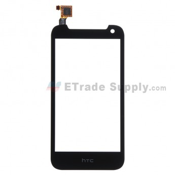 For HTC Desire 310 Digitizer Touch Screen Replacement - Black - With Logo - Grade S+