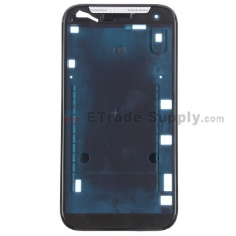 For HTC Desire 310 Front Housing Replacement - Black - Grade S+