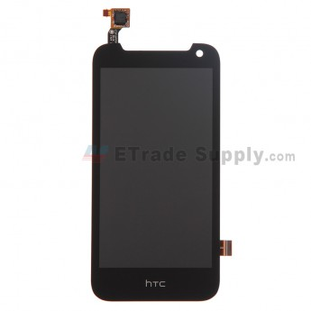 For HTC Desire 310 LCD Screen and Digitizer Assembly Replacement - Black - Grade S+
