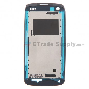 For HTC Desire 500 Front Housing Replacement - Black - Grade S+
