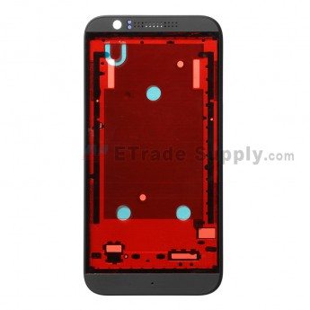 For HTC Desire 510 Front Housing Replacement - Black - Grade S+
