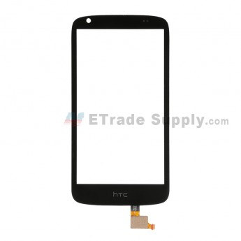 For HTC Desire 526 Digitizer Touch Screen Replacement - Black - With Logo - Grade S+