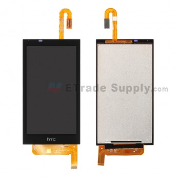 For HTC Desire 610 LCD Screen and Digitizer Assembly Replacement (U3 Version) - Black - Grade S+