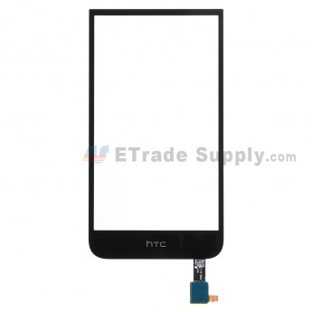 For HTC Desire 616 Dual SIM Digitizer Touch Screen Replacement - Black - Grade S+