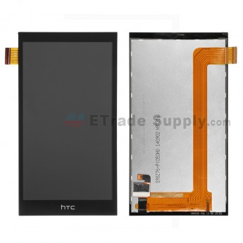 For HTC Desire 620G LCD Screen and Digitizer Assembly Replacement - Black - Grade S+