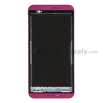 For HTC Desire 816 Front Housing Replacement - Fuchsia - Grade S+