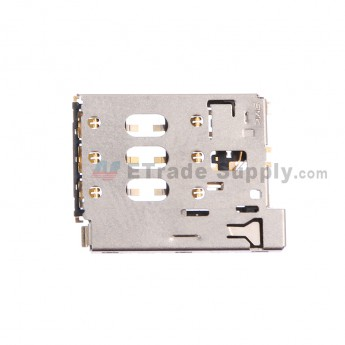 For HTC Desire 816 SIM Card Reader Contact Replacement - Grade S+