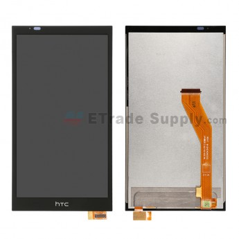 For HTC Desire 816W LCD Screen and Digitizer Assembly Replacement - Black - Grade S+
