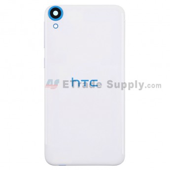 For HTC Desire 820 Battery Door Replacement - White - Grade S+